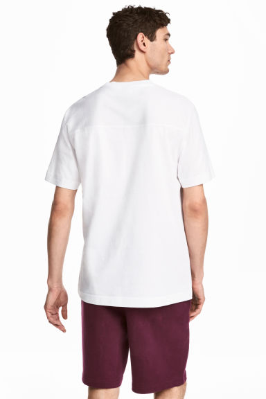 T-shirt - White - Men | H&M CN