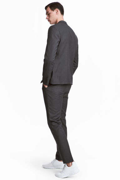 Suit trousers Slim fit - Dark grey - Men | H&M