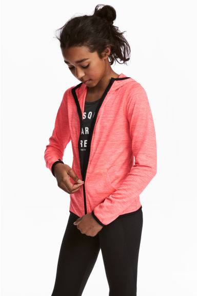 Sports jacket - Coral pink - Kids | H&M CN