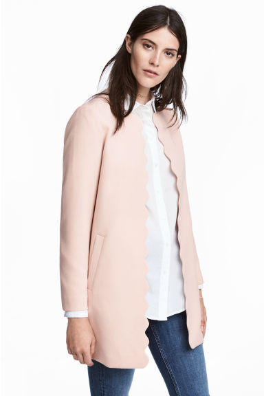 Short coat - Powder pink -  | H&M