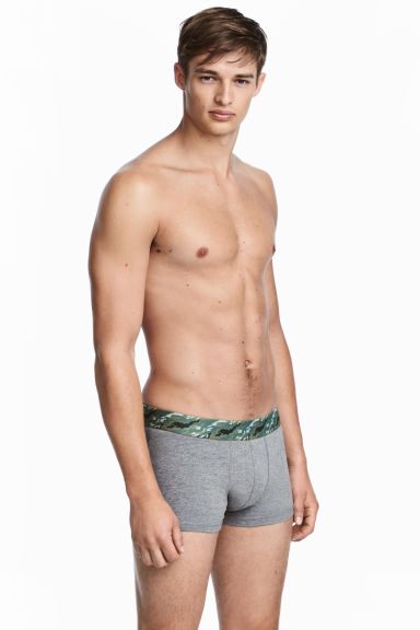 3-pack trunks - Khaki green/Black/Grey -  | H&M GB