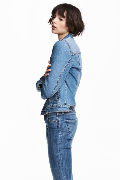 丹寧外套 - Denim blue - Ladies | H&M