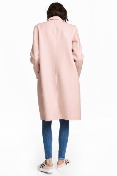 qualité prix abordable où acheter Manteau en laine mélangée