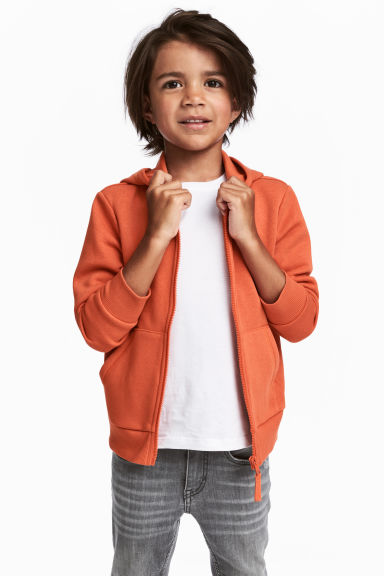 Veste à capuche - Orange - ENFANT | H&M FR