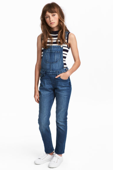 Denim dungarees - Denim blue - Kids | H&M