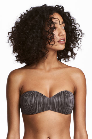 Balconette bikini top - Dark mole - Ladies | H&M