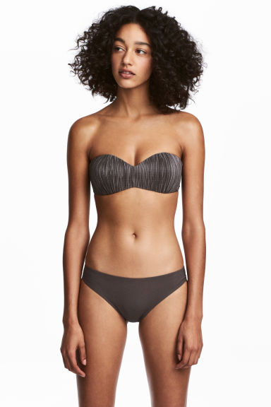 Bikini bottoms - Dark mole - Ladies | H&M CN
