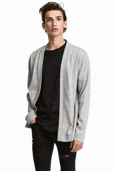 Marled cardigan - Grey marl - Men | H&M IE