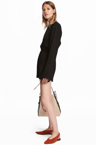 Playsuit - Black -  | H&M