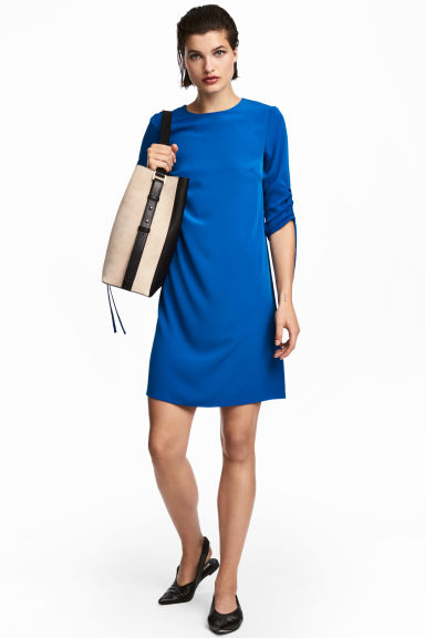 Short dress - Cornflower blue - Ladies | H&M GB