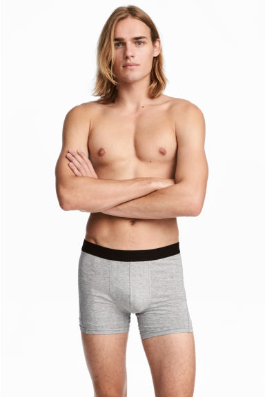 3-pack boxers - Grey marl -  | H&M