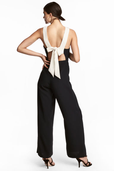 Jumpsuit - Black -  | H&M CN
