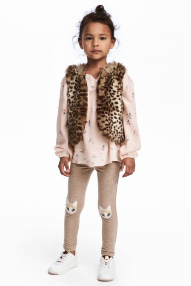 Tregging - Beige/chat - ENFANT | H&M FR
