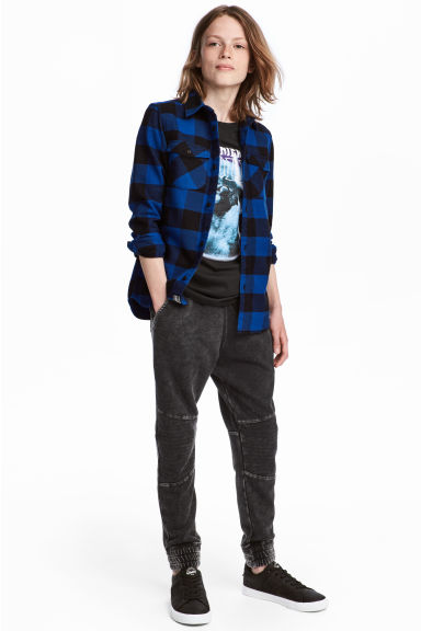 Joggers - Zwart washed out -  | H&M NL