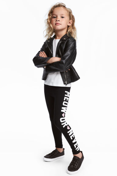 Leggings in jersey - Nero -  | H&M IT