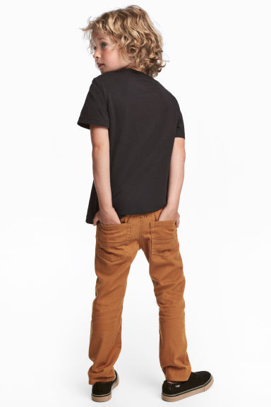 Pantalon en twill Regular fit - Camel -  | H&M FR