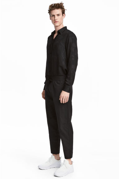Nylon trousers - Black -  | H&M