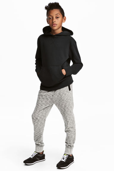 Marled joggers - Grey marl - Kids | H&M GB