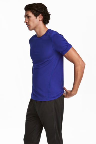 Sports top - Bright blue -  | H&M