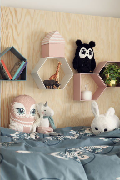 Knuffeldier - Antracietgrijs/uil - HOME | H&M NL
