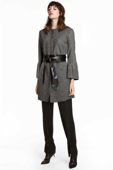 Coat - Dark grey -  | H&M IE