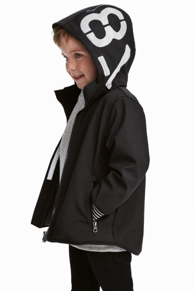 Softshell jacket - Black -  | H&M GB