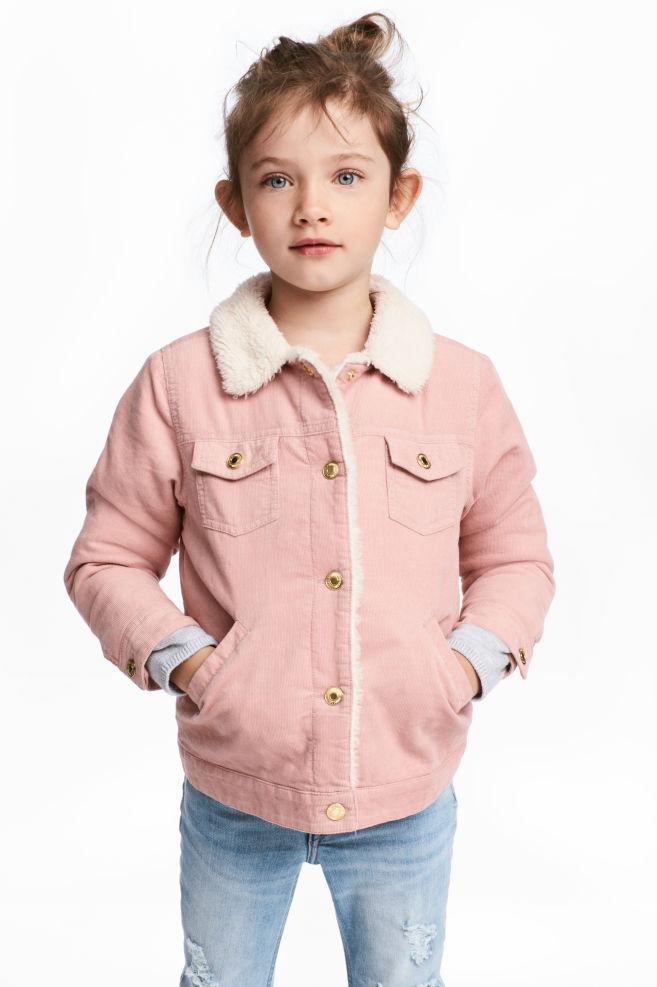 ad5b2d57 Pile-foret fløyelsjakke - Pudderrosa - BARN | H&M ...