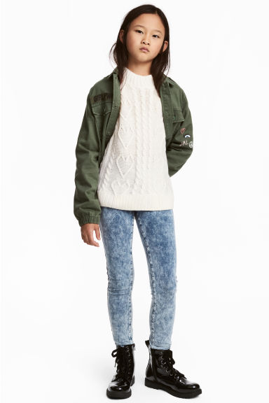 Tregging - Bleu washed out - ENFANT | H&M FR