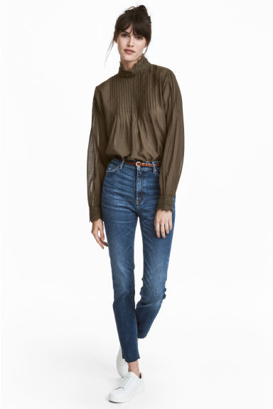 Slim Ankle High Jeans - Blu denim -  | H&M IT
