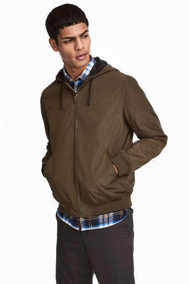 Windbreaker - Khaki - Men | H&M
