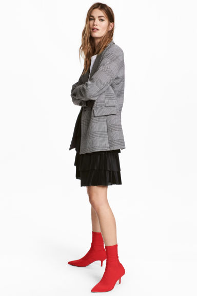 Tiered skirt - Black - Ladies | H&M