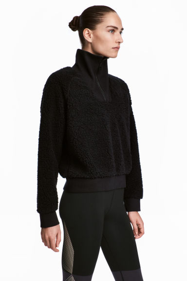 Pile top - Black -  | H&M IE