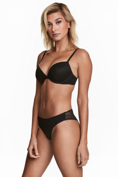 2-pack Brazilian briefs - Black - Ladies | H&M
