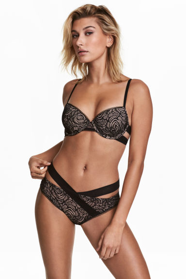 Lace briefs - Black - Ladies | H&M CN