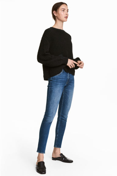Girlfriend Jeans - Denim blue - Ladies | H&M