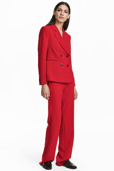 Suit trousers - Red -  | H&M CN
