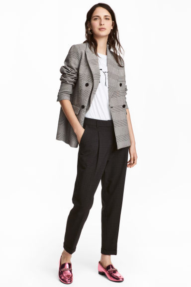 Suit trousers - Grey - Ladies | H&M