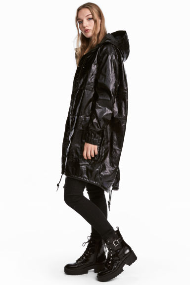 Parka - Black - Ladies | H&M IE