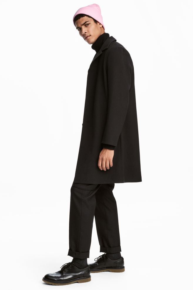 c090e1fe95 Kabát - Fekete - FÉRFI | H&M ...