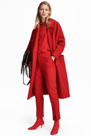Cappotto in lana Modello