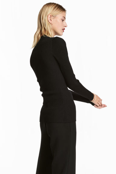 Turtleneck jumper - Black -  | H&M IE