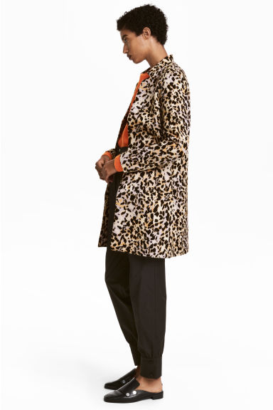 Short coat - Leopard print -  | H&M