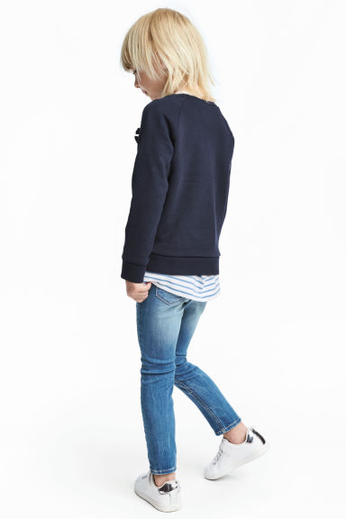 Legging van superstretchdenim - Denimblauw -  | H&M NL