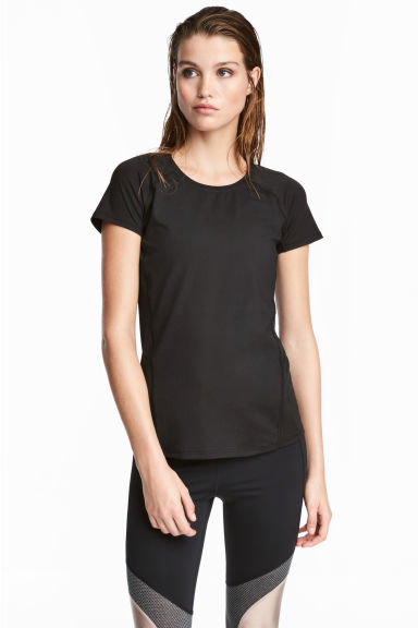 Sports top - Black -  | H&M IE