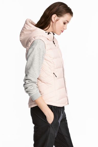 Padded bodywarmer - Light powder pink - Ladies | H&M GB
