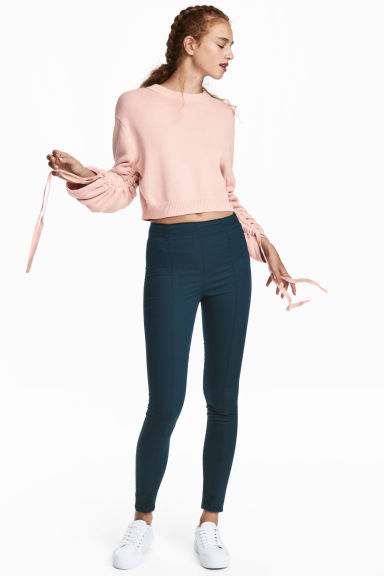 Treggings - Dark blue -  | H&M