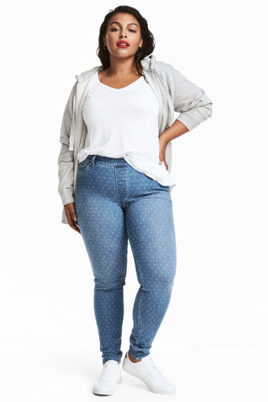 H&M+ Treggings - Light blue - Ladies | H&M