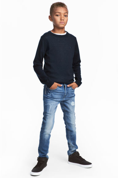 Super Soft Skinny Fit Jeans - Bleu denim - ENFANT | H&M FR