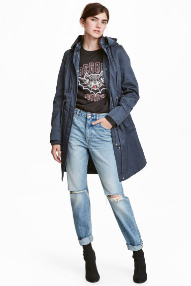 Parka imbottito - Blu scuro -  | H&M IT
