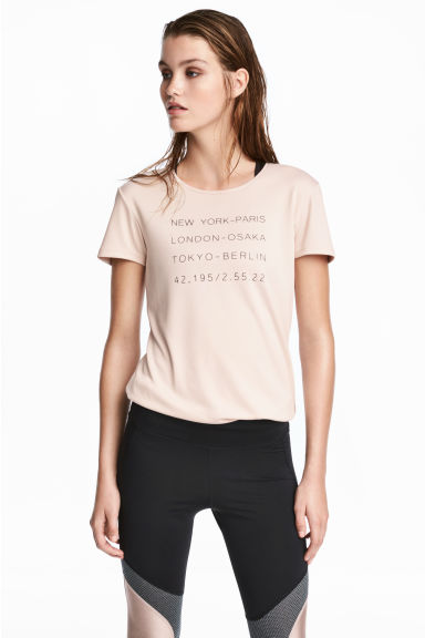 Top running - Rose poudré -  | H&M FR